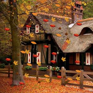 Живые анимационные картинки осень